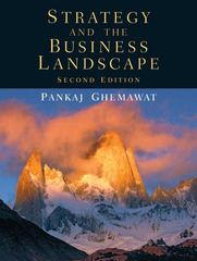 Strategy and the Business Landscape 2nd edition 9780131430358 0131430351