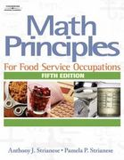Math Principles for Food Service Occupations 5th edition 9781418016463 1418016462