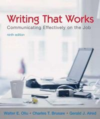 Writing That Works 9th edition 9780312448448 0312448449