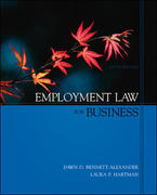 Employment Law for Business with Powerweb Card 5th Edition 9780073260723 007326072X