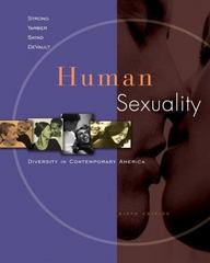 Human Sexuality: Diversity in Contemporary America 6th edition 9780073129112 0073129119