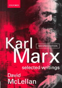 Karl Marx 2nd Edition 9780198782650 0198782659