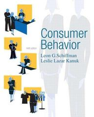 Consumer Behavior 9th Edition 9780131869608 0131869604