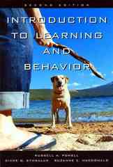 Introduction to Learning and Behavior 2nd Edition 9780534634513 0534634516