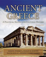 Ancient Greece: A Political, Social and Cultural History 2nd Edition 9780195308006 019530800X