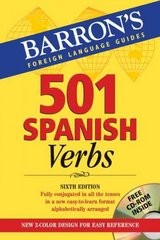 501 Spanish Verbs 6th edition 9780764179846 0764179845
