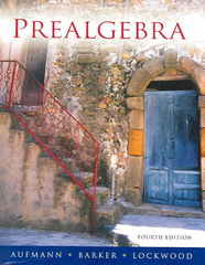 Prealgebra 4th edition 9780618372621 0618372628