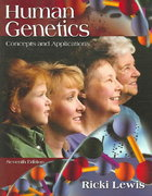Human Genetics 7th Edition 9780073101439 0073101435