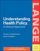 Understanding Health Policy 4th Edition 9780071423113 0071423117