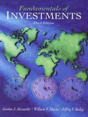 Fundamentals of Investments 3rd edition 9780132926171 0132926172