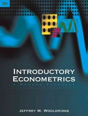 Introductory Econometrics 3rd edition 9780324289787 0324289782
