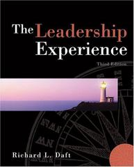 The Leadership Experience 3rd edition 9780324261271 0324261276