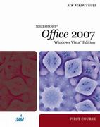 New Perspectives on Microsoft Office 2007, First Course, Windows Vista Edition 1st edition 9781423906155 1423906152
