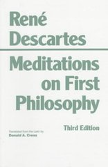 Meditations on First Philosophy 3rd Edition 9780872201927 0872201929