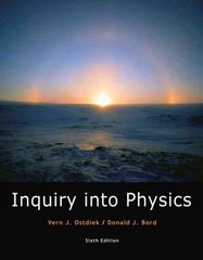 Inquiry into Physics (with InfoTrac 1-Semester Printed Access Card) 6th edition 9780495119432 0495119431