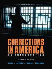 Corrections in America 11th edition 9780131950856 0131950851