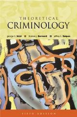 Theoretical Criminology 5th Edition 9780195142020 0195142020