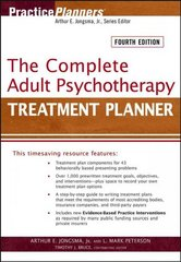 The Complete Adult Psychotherapy Treatment Planner 4th edition 9780471763468 0471763462