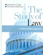 The Study of Law 0 9780735552531 0735552533