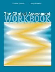 The Clinical Assessment Workbook 1st edition 9780534578435 0534578438