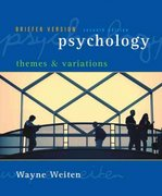 Psychology 7th edition 9780495100584 0495100587