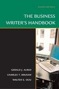 The Business Writer's Handbook 8th edition 9780312436124 0312436122