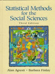 Statistical Methods for the Social Sciences 3rd edition 9780135265260 0135265266