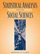 Statistical Analysis for the Social Sciences 1st edition 9780205289721 020528972X