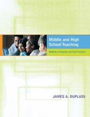 Middle and High School Teaching 1st edition 9780618435753 0618435751