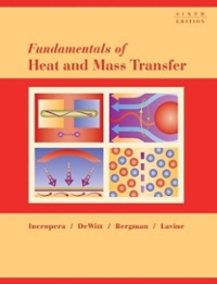 Fundamentals of Heat and Mass Transfer 6th edition 9780471457282 0471457280