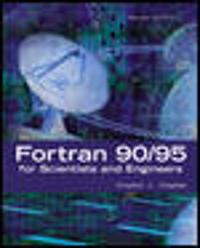 fortran 95 2003 for scientists amp engineers