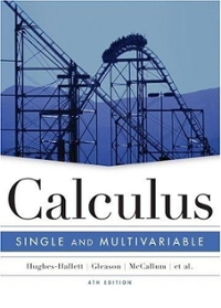 Calculus 4th edition 9780471472452 047147245X