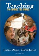 Teaching To Change The World 3rd edition 9780072982008 0072982004