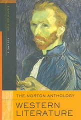 The Norton Anthology of Western Literature 8th Edition 9780393926163 0393926168