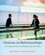Choices in Relationships 9th edition 9780495091851 0495091855