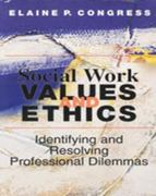Social Work Values and Ethics 1st Edition 9780830414925 0830414924