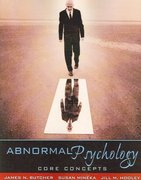 Abnormal Psychology 1st edition 9780205486830 0205486835