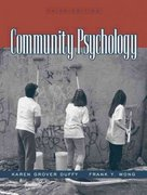 Community Psychology 3rd edition 9780205350261 0205350267