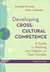 Developing Cross-Cultural Competence 3rd edition 9781557667441 1557667446