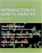Introduction to Genetic Analysis Solutions MegaManual & Interactive Genetics CD-ROM 8th edition 9780716763109 0716763109