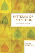 Patterns of Exposition 18th edition 9780321409218 0321409213
