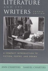 Literature and Its Writers 4th Edition 9780312445744 0312445741