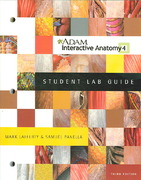 ADAM Interactive Anatomy Student Lab Guide w/Windows DVD Package 3rd edition 9780805372328 0805372326