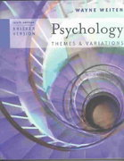 Psychology 6th edition 9780534632885 0534632882