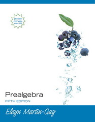 Prealgebra 5th Edition 9780132319515 0132319519