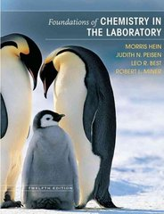 Foundations of Chemistry in the Laboratory 12th edition 9780470043851 0470043857