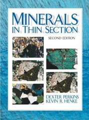 Minerals in Thin Section 2nd Edition 9780131420151 0131420151