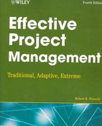 Effective Project Management 4th edition 9780470042618 0470042613