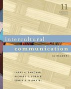 Intercultural Communication 11th edition 9780534644406 0534644406