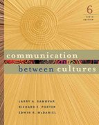 Communication Between Cultures 6th Edition 9780495007272 0495007277